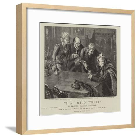 Thet Wild Wheel-Sydney Prior Hall-Framed Art Print