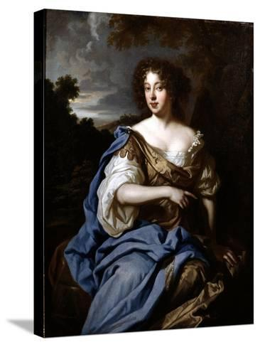 Portrait of a Lady Called Nell Gwynn, C.1670-Sir Peter Lely-Stretched Canvas Print