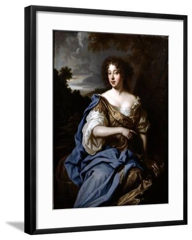 Portrait of a Lady Called Nell Gwynn, C.1670-Sir Peter Lely-Framed Art Print