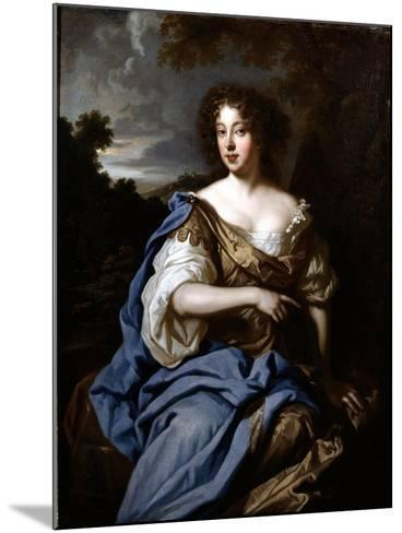 Portrait of a Lady Called Nell Gwynn, C.1670-Sir Peter Lely-Mounted Giclee Print