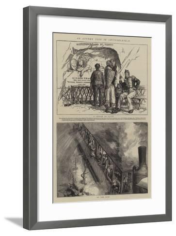 An Autumn Tour in Switzerland, II-Sydney Prior Hall-Framed Art Print