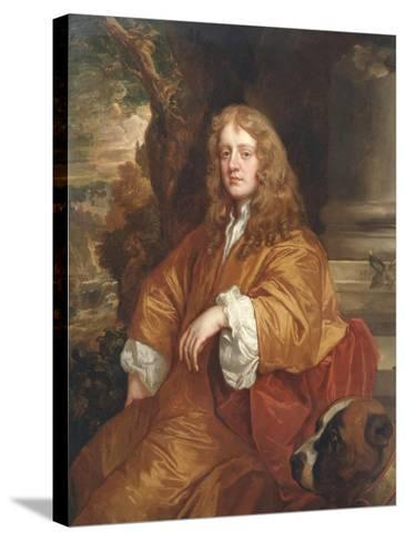 Sir Ralph Bankes, C.1660-65-Sir Peter Lely-Stretched Canvas Print