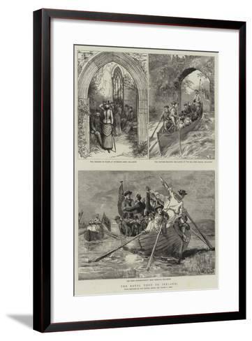 The Royal Visit to Ireland-Sydney Prior Hall-Framed Art Print