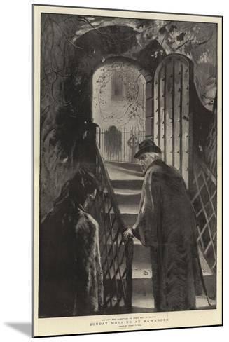 Sunday Morning at Hawarden-Sydney Prior Hall-Mounted Giclee Print