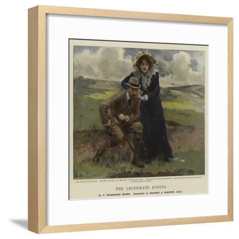 The Legitimate Ending-Solomon Joseph Solomon-Framed Art Print