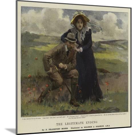 The Legitimate Ending-Solomon Joseph Solomon-Mounted Giclee Print