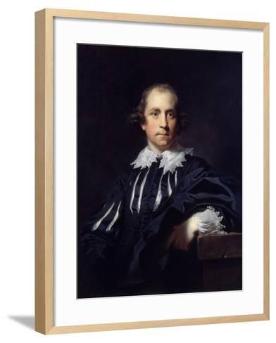 John Julius Angerstein, 1765-Sir Joshua Reynolds-Framed Art Print