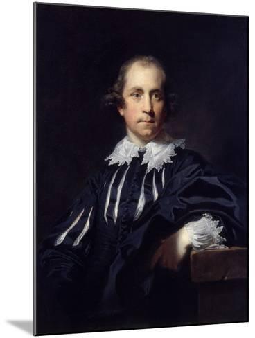 John Julius Angerstein, 1765-Sir Joshua Reynolds-Mounted Giclee Print
