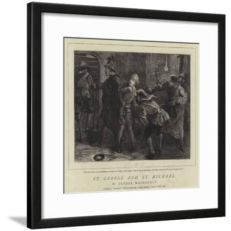 St George and St Michael-Sydney Prior Hall-Framed Art Print