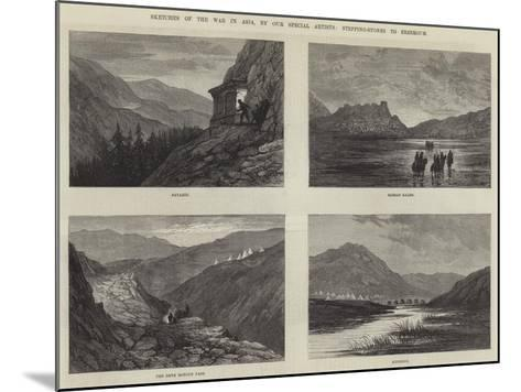 Sketches of the War in Asia-Sir John Gilbert-Mounted Giclee Print