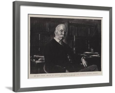 Sir John Furley, One of the Earliest Organisers of the Red Cross Movement, Recently Knighted-Sydney Prior Hall-Framed Art Print