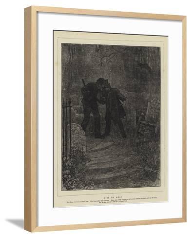 Miss or Mrs?-Sir Samuel Luke Fildes-Framed Art Print