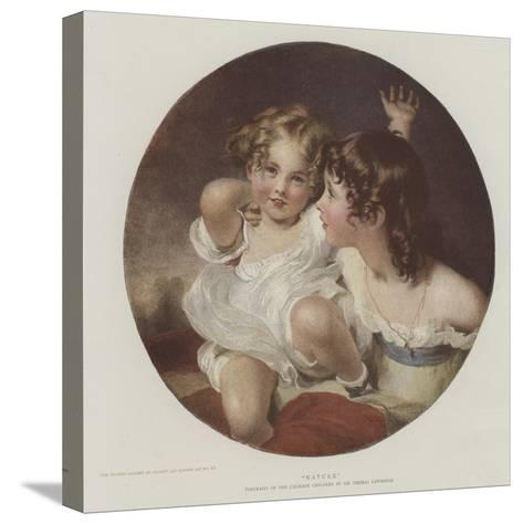 Nature-Thomas Lawrence-Stretched Canvas Print