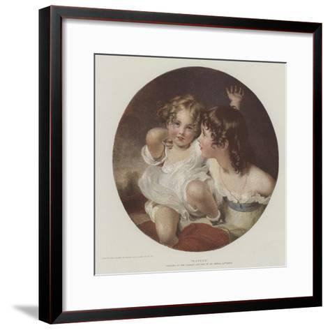 Nature-Thomas Lawrence-Framed Art Print