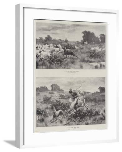 A Bill of Fare-Stanley Berkeley-Framed Art Print