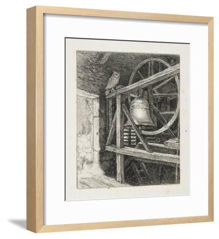 The Death of the Old Year-John Everett Millais-Framed Art Print