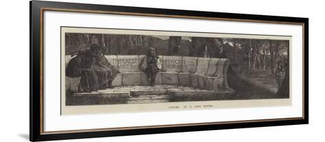 Autumn-Sir Lawrence Alma-Tadema-Framed Art Print