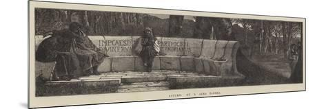 Autumn-Sir Lawrence Alma-Tadema-Mounted Giclee Print