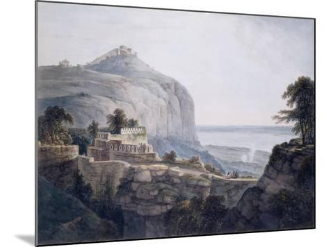 The North West View of Rohtasgarh, Bihar-Thomas & William Daniell-Mounted Giclee Print