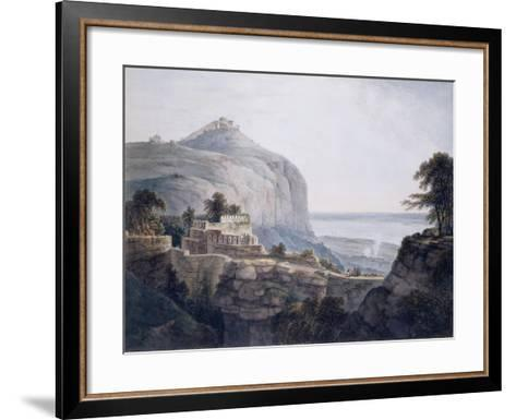 The North West View of Rohtasgarh, Bihar-Thomas & William Daniell-Framed Art Print