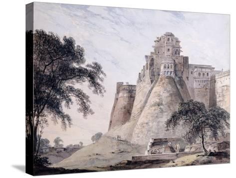 View of the Fort, Jaunpur, Uttar Pradesh-Thomas & William Daniell-Stretched Canvas Print