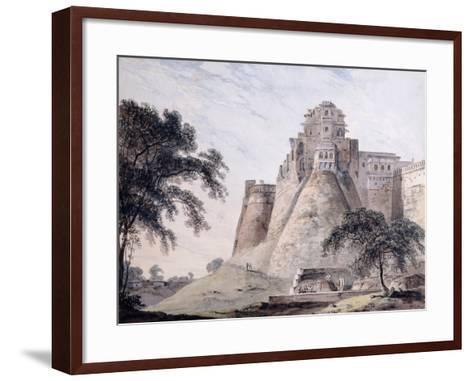 View of the Fort, Jaunpur, Uttar Pradesh-Thomas & William Daniell-Framed Art Print