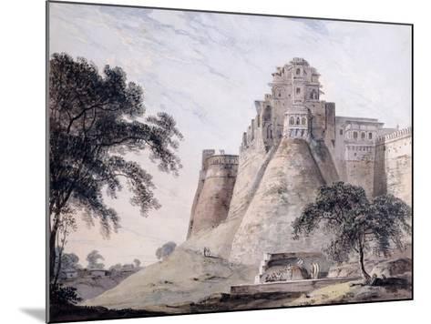 View of the Fort, Jaunpur, Uttar Pradesh-Thomas & William Daniell-Mounted Giclee Print