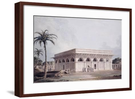 The Chaunsath Khamba Nizamuddin, Delhi-Thomas & William Daniell-Framed Art Print