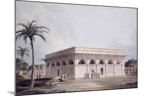 The Chaunsath Khamba Nizamuddin, Delhi-Thomas & William Daniell-Mounted Giclee Print