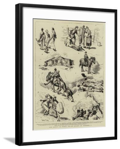 Our Artist in Wales, III, an Ascent of Snowdon, I-Sydney Prior Hall-Framed Art Print