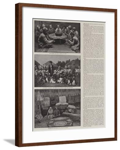 A Journey across Siberia-Thomas Allen-Framed Art Print