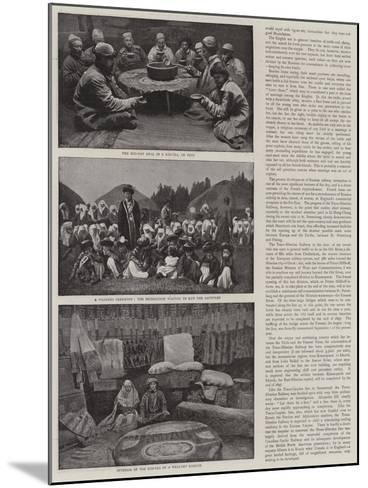 A Journey across Siberia-Thomas Allen-Mounted Giclee Print