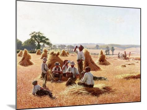 Harvesters Resting, 1898-Thomas Frederick Mason Sheard-Mounted Giclee Print
