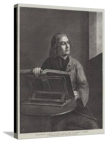 Gainsborough's Portrait of Orpin-Thomas Gainsborough-Stretched Canvas Print