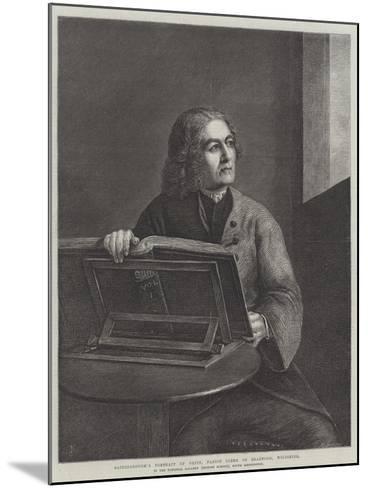 Gainsborough's Portrait of Orpin-Thomas Gainsborough-Mounted Giclee Print