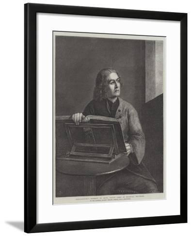 Gainsborough's Portrait of Orpin-Thomas Gainsborough-Framed Art Print