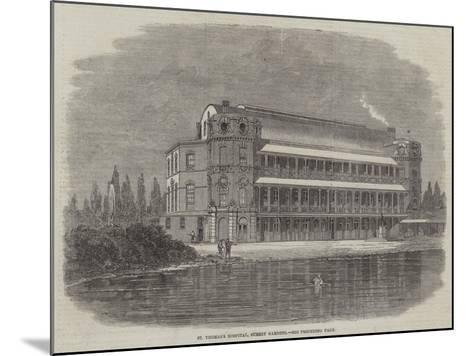 St Thomas's Hospital, Surrey Gardens-Thomas Harrington Wilson-Mounted Giclee Print