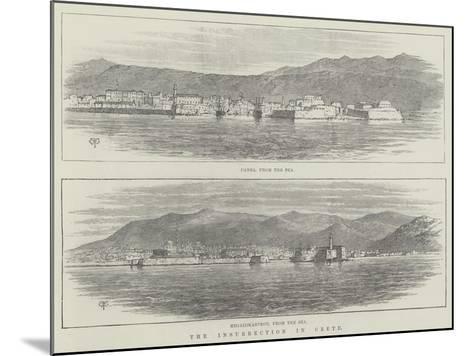 The Insurrection in Crete-Thomas Harrington Wilson-Mounted Giclee Print
