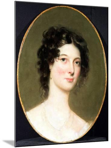 Portrait of Harriet Fane, Mrs Charles Arbuthnot (1793-1834) 1820s-Thomas Lawrence-Mounted Giclee Print