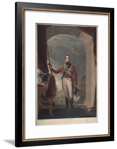 The Duke of Wellington, 1818-Thomas Lawrence-Framed Art Print