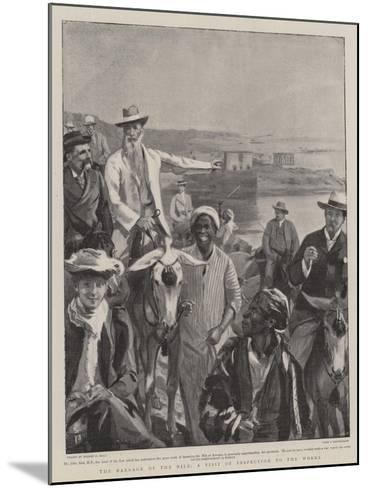 The Barrage of the Nile, a Visit of Inspection to the Works-Sydney Prior Hall-Mounted Giclee Print