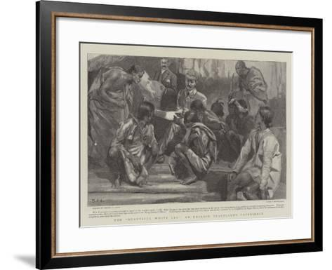 The Beautiful White Leg, an English Traveller's Experience-Sydney Prior Hall-Framed Art Print