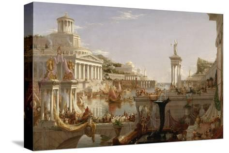 The Course of Empire: the Consummation of the Empire, C.1835-36-Thomas Cole-Stretched Canvas Print