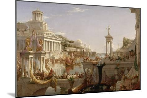 The Course of Empire: the Consummation of the Empire, C.1835-36-Thomas Cole-Mounted Giclee Print