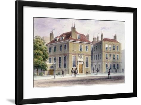 New Inn, 1850-Thomas Hosmer Shepherd-Framed Art Print