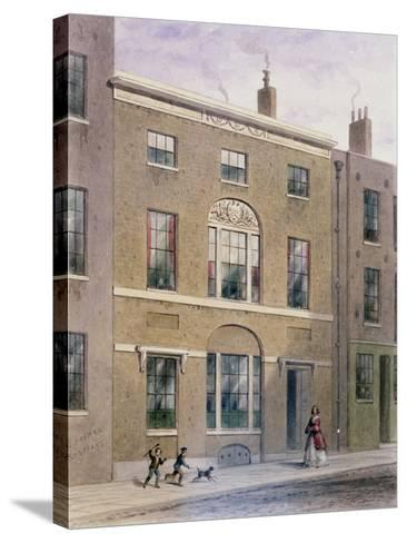 Plumbers Hall in Great Bush Lane, Cannon Street, 1851-Thomas Hosmer Shepherd-Stretched Canvas Print