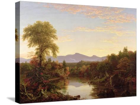 Catskill Creek, New York, 1845-Thomas Cole-Stretched Canvas Print