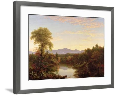 Catskill Creek, New York, 1845-Thomas Cole-Framed Art Print