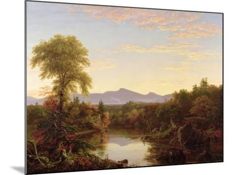 Catskill Creek, New York, 1845-Thomas Cole-Mounted Giclee Print