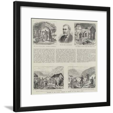 Sketches of the Eviction Campaign in Ireland-Thomas Harrington Wilson-Framed Art Print